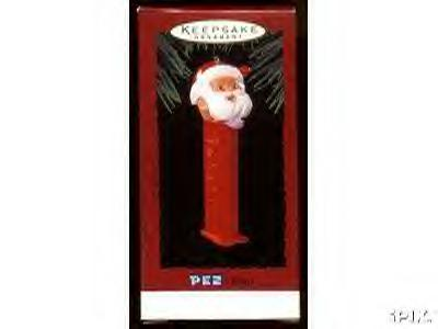 PEZ Santa Hallmark Ornament