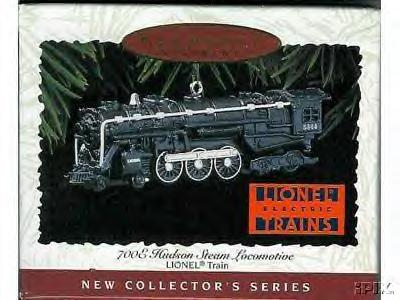 1996 Hallmark 700 HUDSON LOCOMOTIVE ornament-die-cast metal