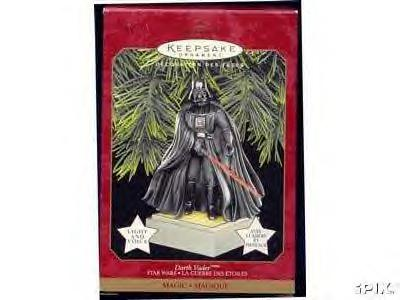 New STAR WARS: Darth Vader Hallmark ornament 1997