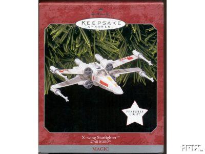X-WING Starfighter Star Wars Hallmark Ornament