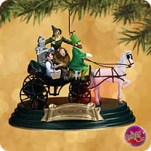 Horse of a Different Color- WIZARD of OZ Hallmark Christmas ornament~Light & Sound
