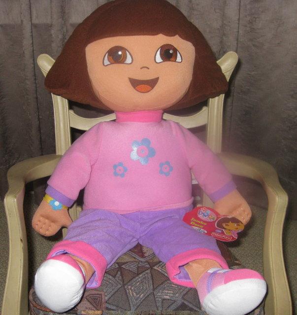 New! Jumbo DORA the EXPLORER Doll Fisher Price 25