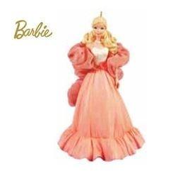 Hallmark 2011 PEACHES 'n CREAM Barbie Doll-LIMITED Christmas Ornament