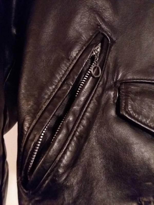 Vintage Schott NYC Leather Biker Jacket. Size 18. Make an Offer!