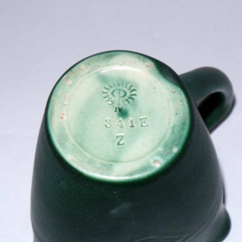 1904 Rookwood Tri-Corner Art Pottery Creamer. #341 E. 4 1/4
