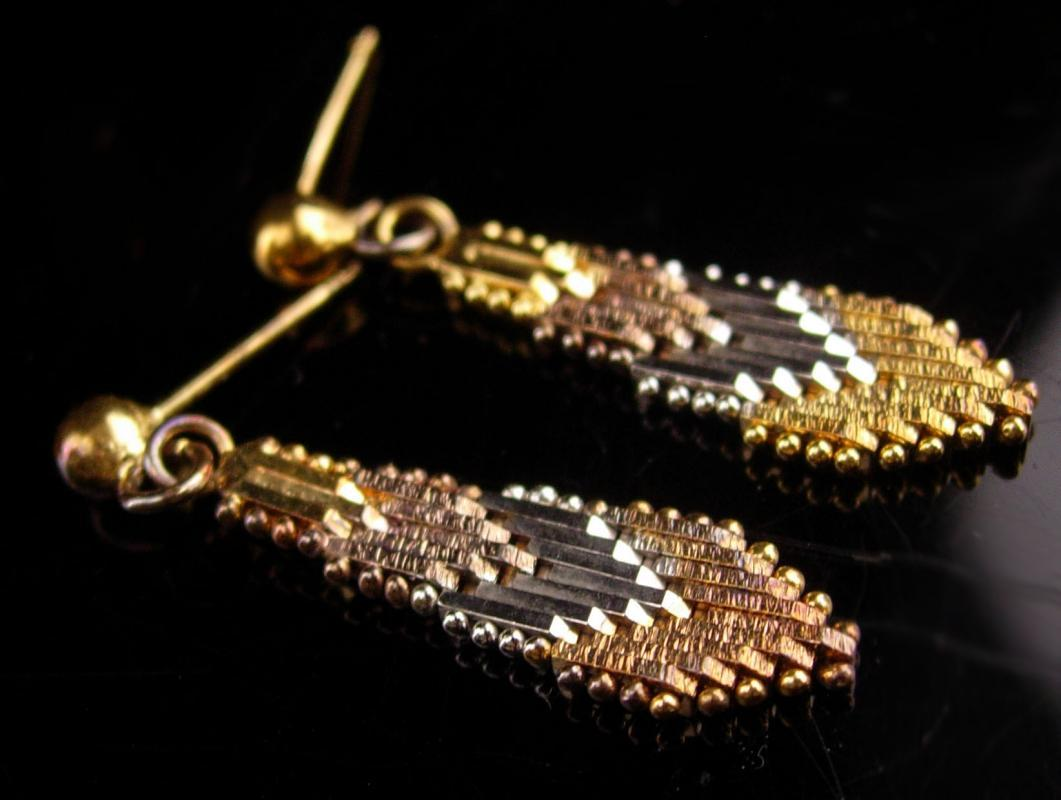 vintage sterling silver hippie earrings / feather design / high quality sterling - indian gift - gift for her - gold silver dangle drops