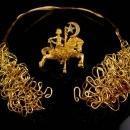 Fabulous Pegasus statement Necklace - signed kirks folly brooch - flying horse - Vintage moon star signed pin - Mystical Mythology Fantasy