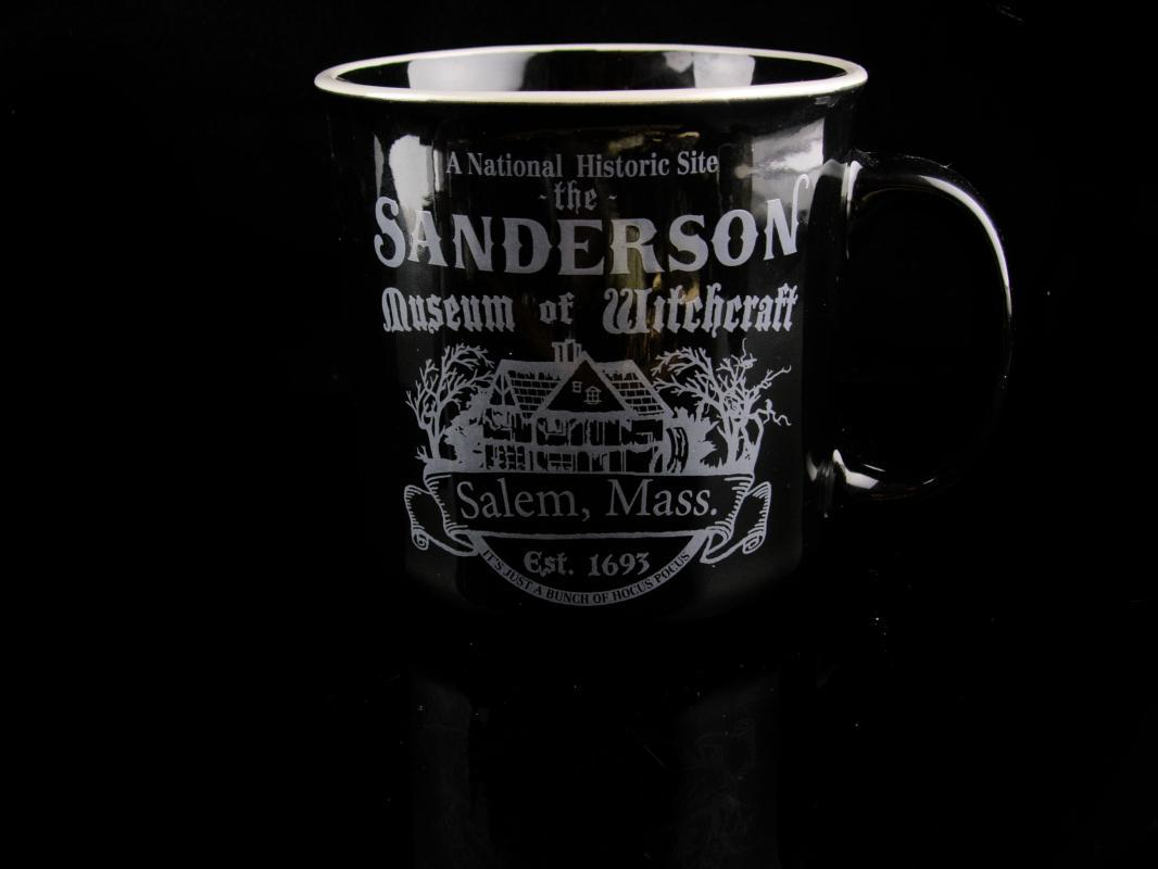 Vintage Witch Mug - Hocus Pocus coffee cup - Sanderson Museum - withchcraft theme - novelty gift
