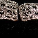 Antique French Cut Steel Buckles - Large vintage silver victorian buckle - made in france - Marcasite design - victorian shoe accessory