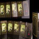 Miniature Oriental screen / Vintage Panda room divider - doll house furntiture - novelty bear art - asian art - panda lover gift