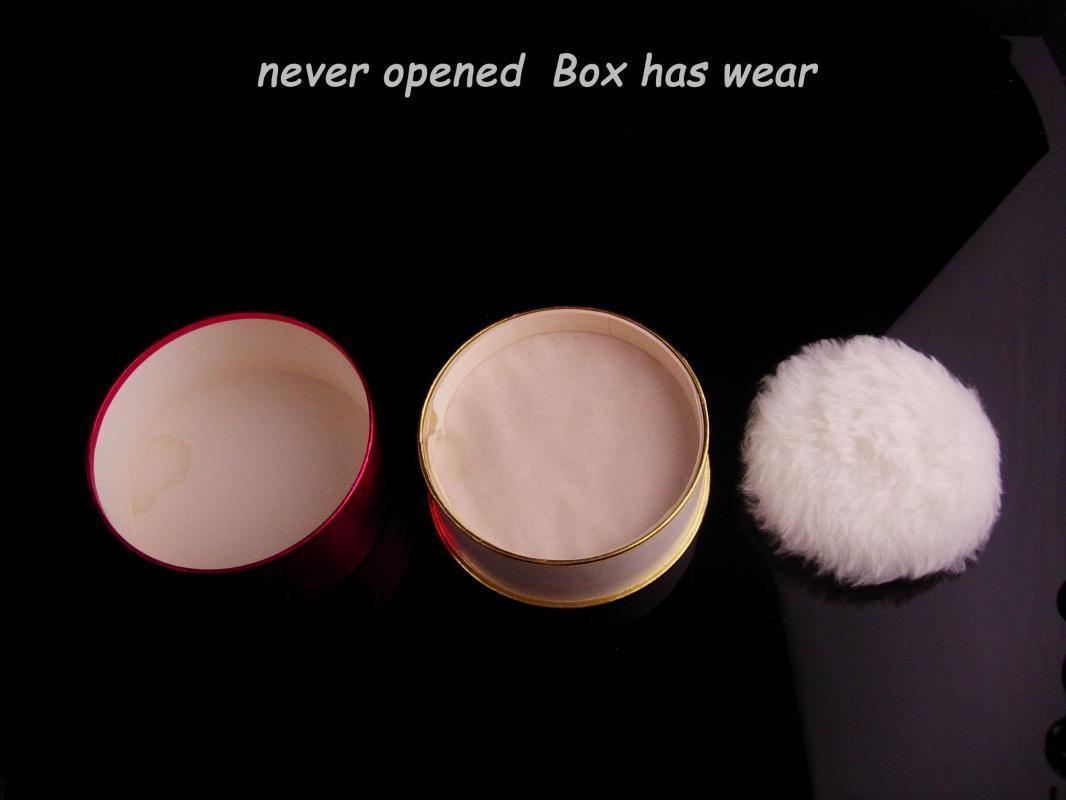 Vintage Coty ICI Body Powder unused - French Kiss loose dusting powder - silky after bath powder - 2.3 oz