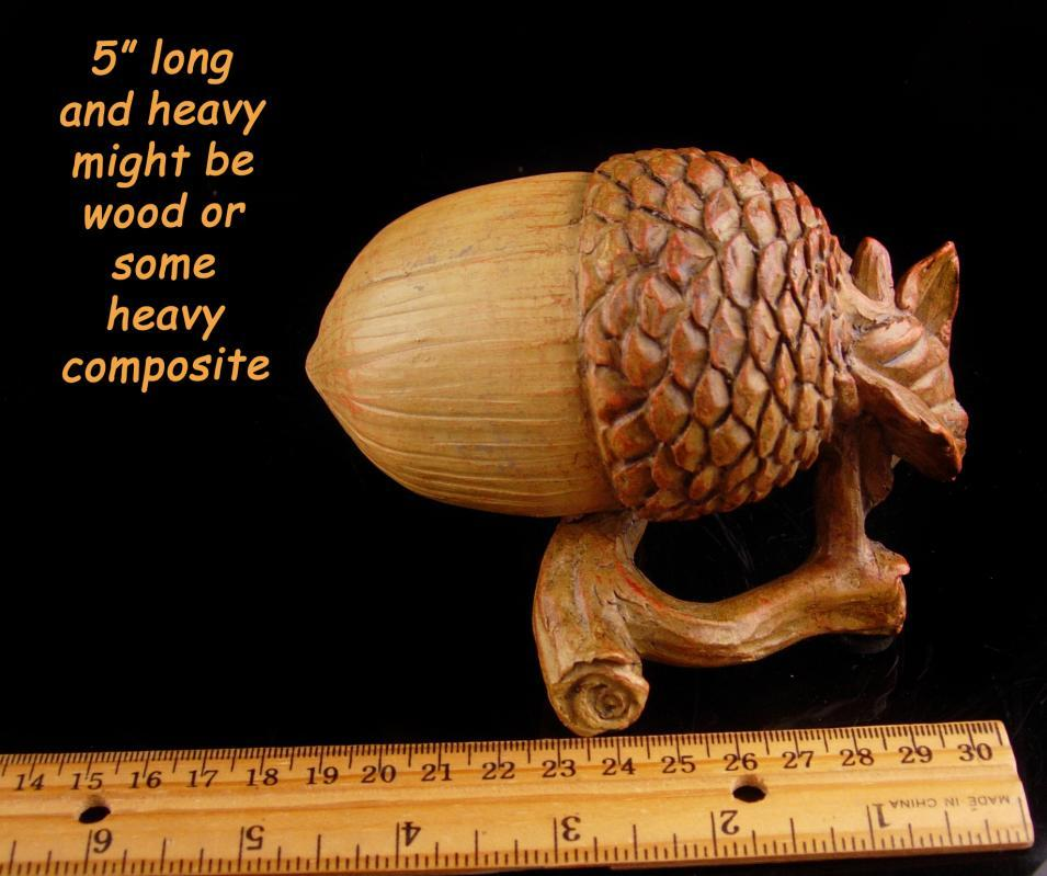 Large Acorn on stand  / Celtic wedding / Good luck symbol / housewarming gift / acorn statue / acorn gift