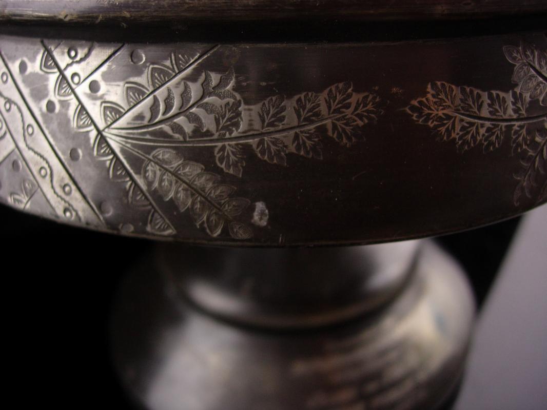 1876 Antique victorian castor bottle stand - Washington Public School - Kelly wedding gift - Lazy susan carousel - Condiment Pedestal caddy