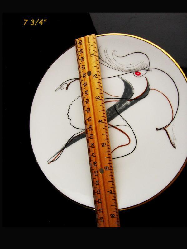 Al hirschfield Plate - Jazz dancer - numbered plate - Broadway musical - DIxie Jazz - Rhythm and blues - dance  teacher gift