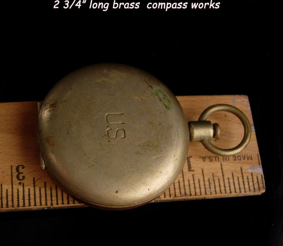Vintage Military Pocketwatch compass - S&W US Nautical Compass - steampunk - Maritime gift - sailor gift - Yacht captain
