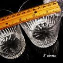 Wedding gift - 4 waterford Crystal Marquise glasses - Irish crystal cup set - set of glass tumblers