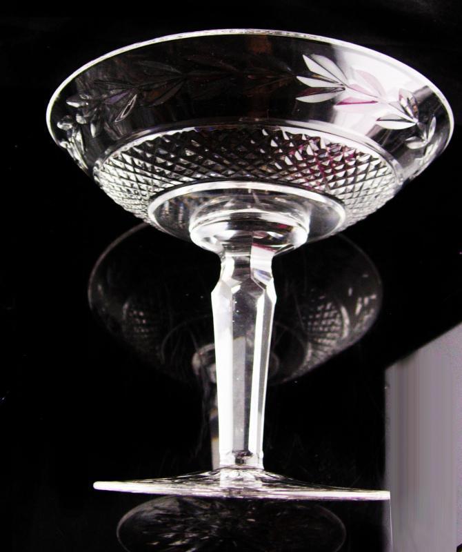 Vintage Waterford Crystal pedestal bowl - Irish crystal - wedding anniversary gift -  housewarming gift