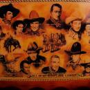 Framed Ivan Jesse Curtis - All My Hero's Are Cowboys  - John Wayne - Gene Autry - wild Bill - Cisco Kid - Jimmy Stewart - Lone Ranger