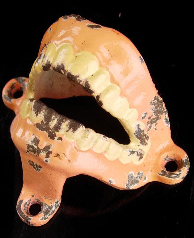 Bizarre Teeth - creepy wall mount enamel teeth - dentist gift - Dental medical school graduation false dentures prosthetic skeleton device