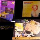 Signed Debbie reynolds program - original ticket - autographed souvenir debbie reynolds - vintage broadway program