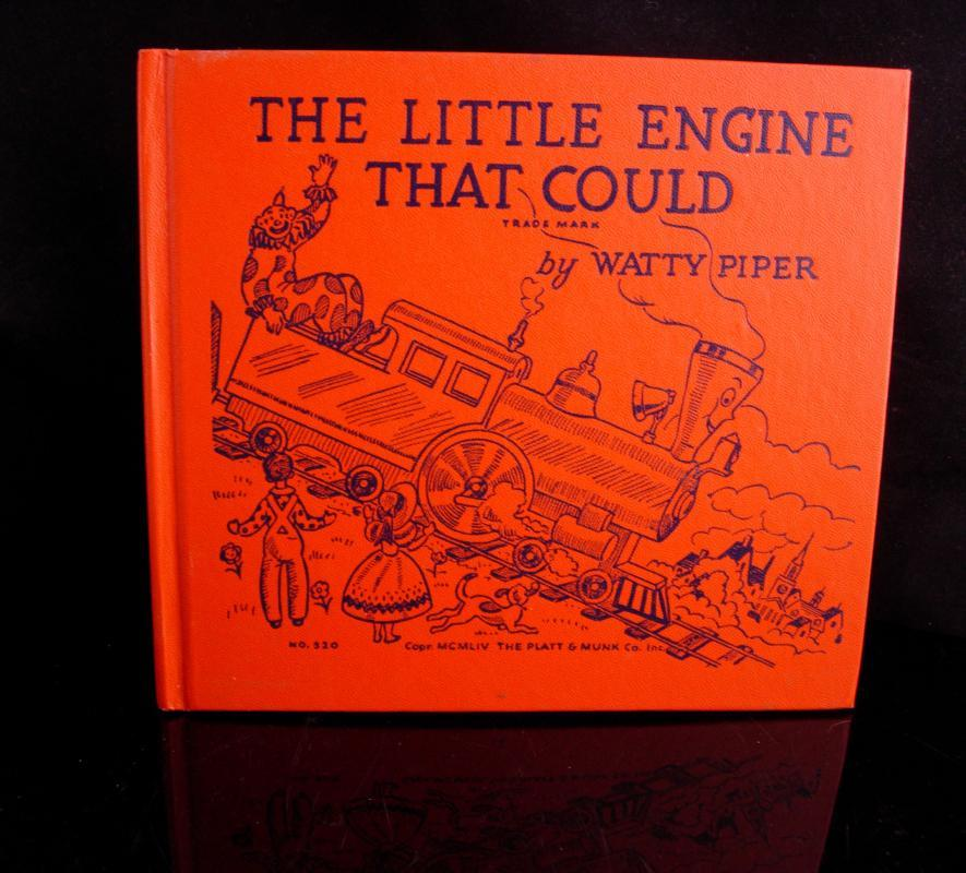 1930 Little Engine that could book - Hardcover New York Platt & Munk - Watty Piper - vintage childrens book