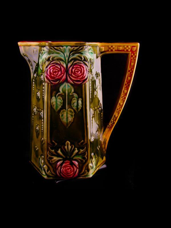Gorgeous Antique French pitcher - Onnaing 8 1/4