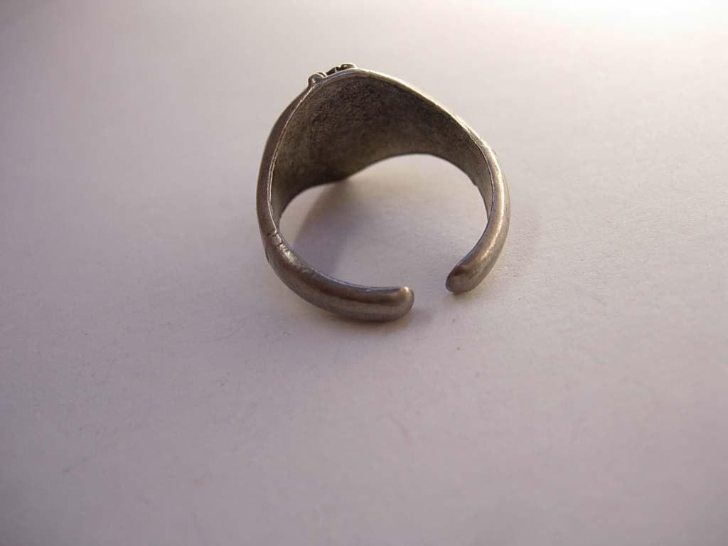 Vintage Skull Ghost Ring Pirate Forehead X Bikers Fathers Day 8 - 8 1/2