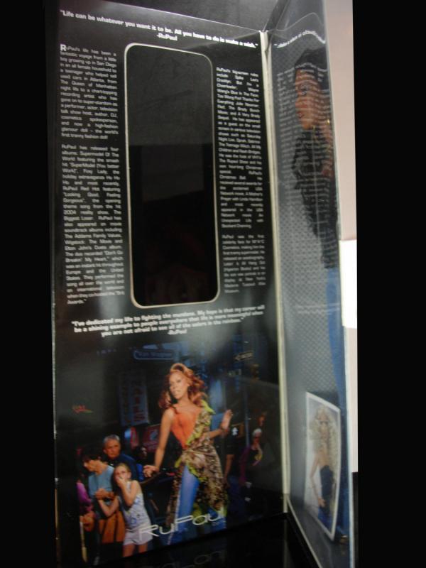 RuPaul Doll Original Box Retired Jason Wu Drag Queen Race  Gay Interest Gift lgbt