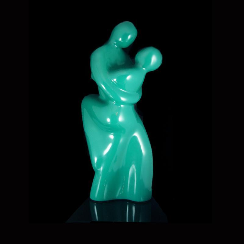 Nude Statue Female Male sculpture erotic retro ceramic forever artistic love wedding Gift erotica