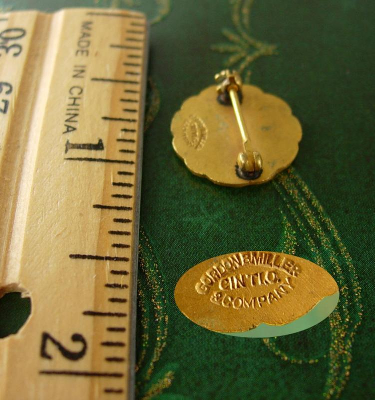Scales of Justice pin Toledo Scale Co Lapel Pin Vintage 5 Year Service Pinback Lawyer Unisex Award