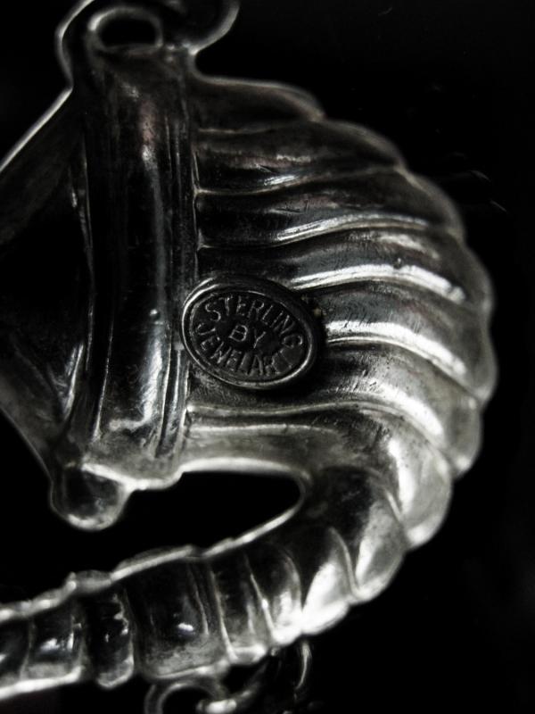 Sherlock holmes pipe Brooch Sterling Vintage Mens lapel pin smoking tobacco novelty Steampunk victorian revival womens