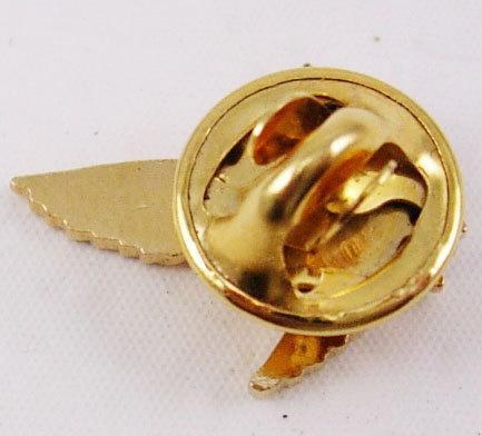 Vintage Golden Color Eagle Tie Tack cravat holder military bird  Lapel Pin Patriot Veteran Birthday Fathers Day Business
