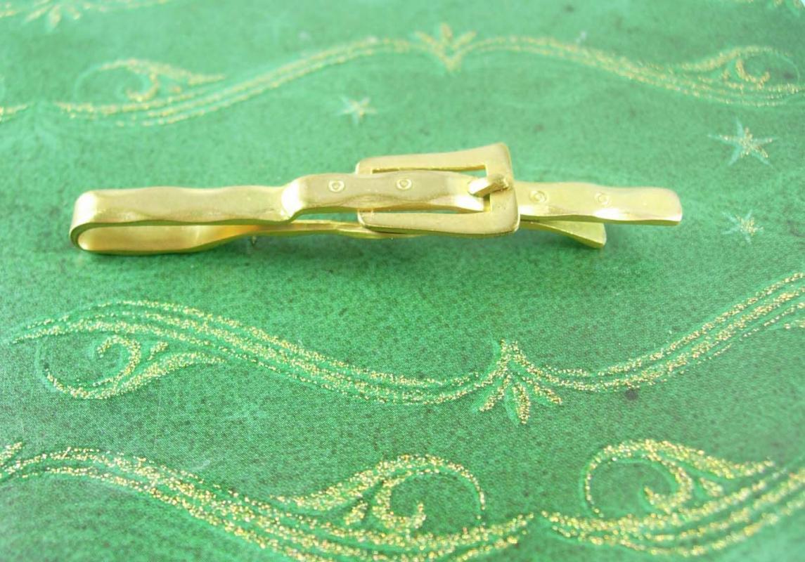 Designer Belt Tie Clip Vintage Anson Fashionista Trendy Tie Bar/ Tie Clasp Tie Accessory Tie bar