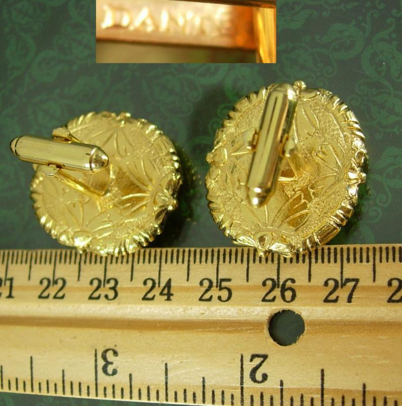 Museum Cufflinks Pegasus Vintage Cupid Mythical Winged Horse Collectors Designer Dante red Incolay cameo Cuff link Accessory