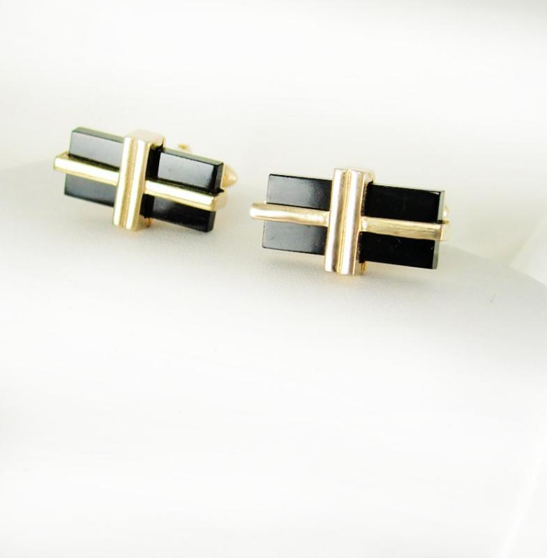 Black Tie Affair Vintage Cufflink Presents Gift Box Christmas mens cuff links formal wear