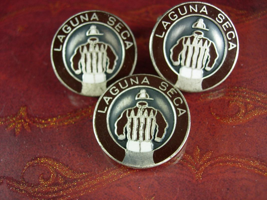 Laguna Seca Cufflinks Stud Farm jockey Vintage Horse Cufflinks Tie clip  silver Equestrian Thoroughbred  Racing Track Queens Hustler Tie bar