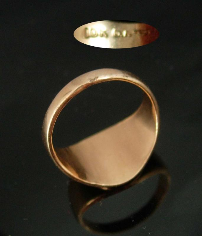 Victorian Signet Ring 10kt gold filled initial ring size 6 Letter CSB personalized ring Art Deco Birthday mens womens