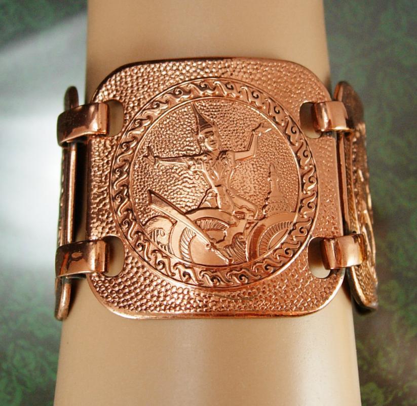 HUGE Copper bracelet 1 3/4