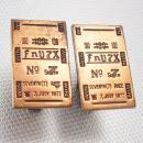 Vintage Churchill Downs cufflinks Seventh Race Las Vegas tie clip Gambling 100 FnV7X No7 gambler mens cool gift horse memorabilia 1977
