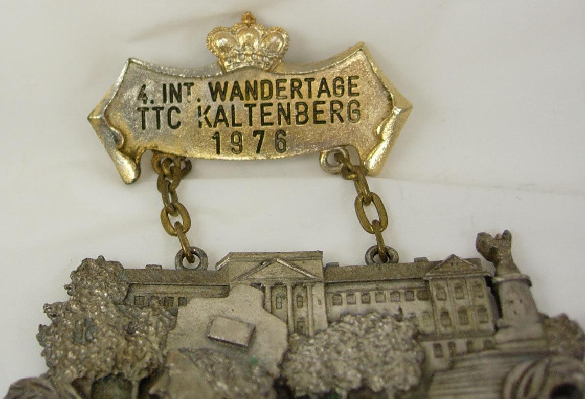 Vintage 4 Int Wandertage TTC Kaltenberg Badges Hiking Club Birthday Sports