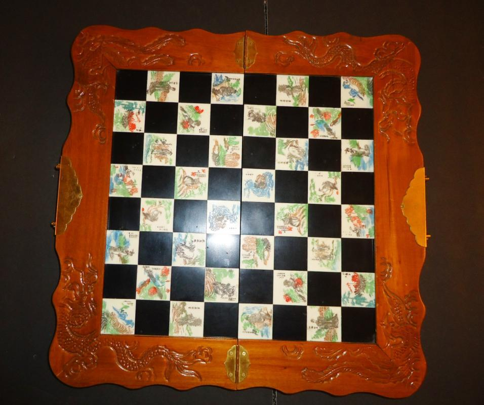 Carved Soapstone 8-in Chess Set Chess Set Carved Soapstone 8-in