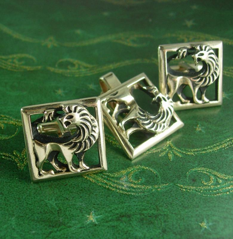 Traction Engine  Cufflinks Tie slide or the set lead free English Pewter handmade in Sheffield uk Q276