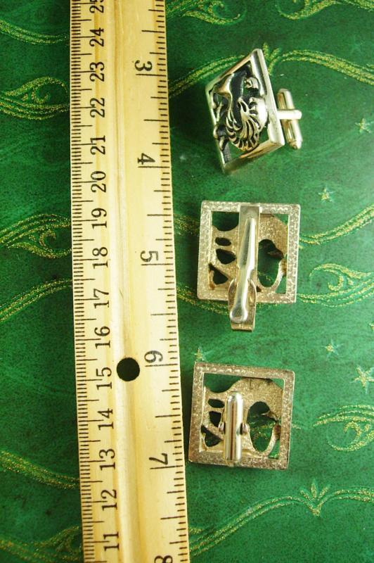 Swanky Vintage Lion Tie Clip with Box Mad Men Man/'s Necktie Fashion Clothing Accessory Cat Vegas Retro