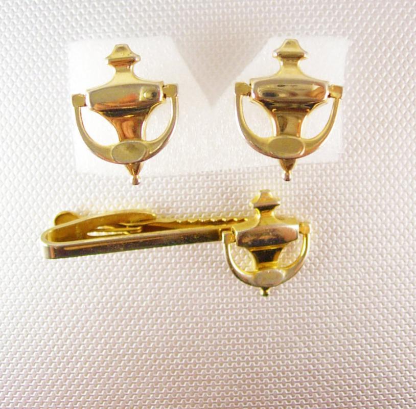 Men/'s Vintage Cufflinks Real Estate Door Knockers Cufflinks Made In USA Vintage HICKOK Brand Steampunk Cufflinks 1950/'s Mid Century Modern