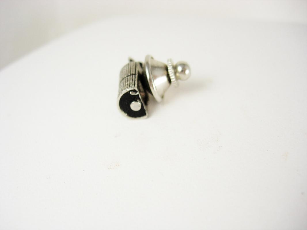 Vintage Lighter Tie Tac Pin Cigarettes Tobacco Steampunk Birthday Retirement novelty jewelry
