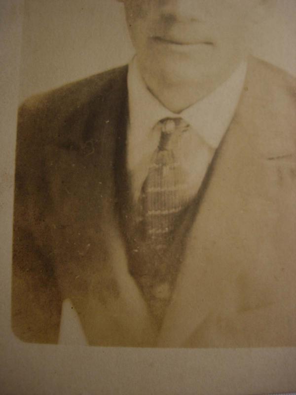 1920 William A Byron RPPC postcard Real photo portrait