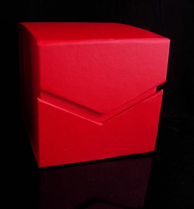 Vintage Christie Brinkley ornament / initial CB / original box / designer SMILE ornament