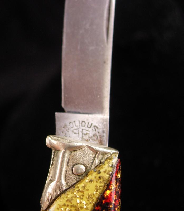 Ges Gesch FIGURAL BIRD / antique folding pocket knife