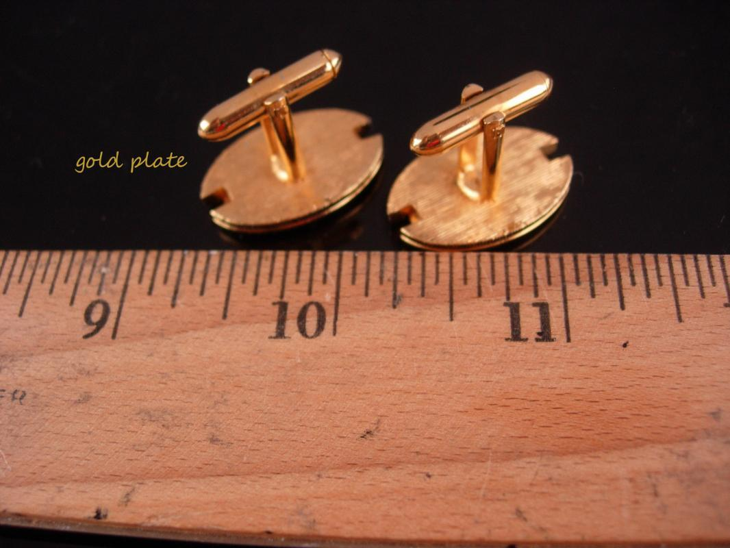Vintage erotic cufflinks / Vintage Nude Cuff Link set / Men's Novelty / Naughty nude / gold Bachelor Gift / silver sculpture jewelry /