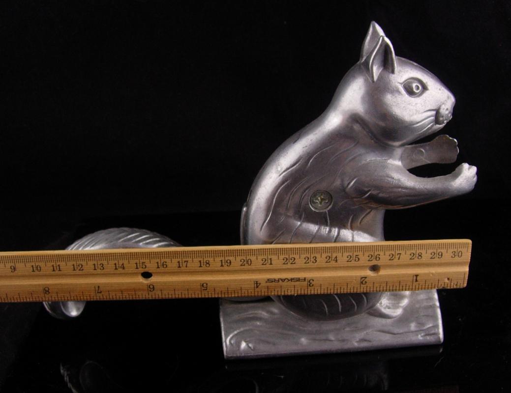 Squirrel nutcracker - vintage metal kitchen gift - animal lover gift - novelty nutcracker - animated squirrel - bachelor party gift
